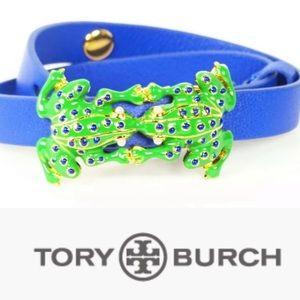 """Tory Burch """"kissing frogs"""" bracelet"""